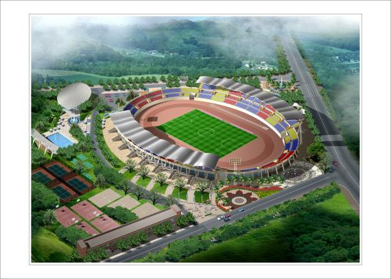 重庆垫江体育场