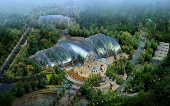 南山植物园温室